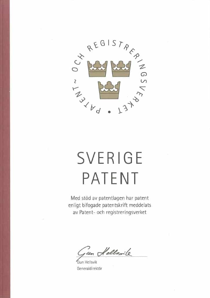 Sverige-patent